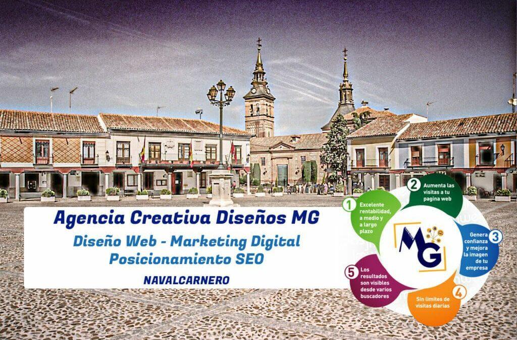 Diseño Web Navalcarnero |  Agencia Creativa Diseños MG 🚀